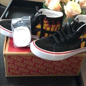 Like New VANS Hi Top Sneakers w/ Box